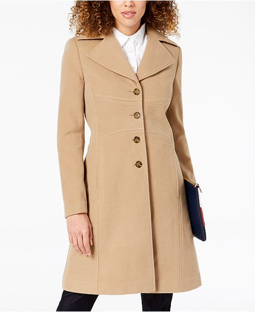 many choices of exceptional range of styles innovative design Tommy Hilfiger Single-Breasted Peacoat & Reviews - Coats ...