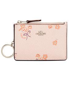 COACH Mini ID Skinny Wallet