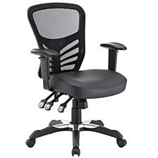 Articulate Vinyl Office Chair