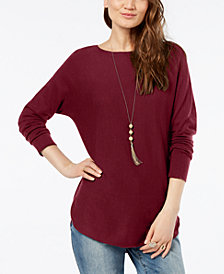 I.N.C. Petite Sweater Tunic, Created for Macy's