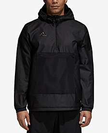 adidas Men's Tango ClimaProof® Half-Zip Windbreaker