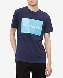 Calvin Klein Jeans Men's Big and Tall Logo-Print T-Shirt