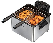 Double Basket Professional Deep Fryer