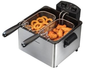 Hamilton Beach Double Basket Professional Deep Fryer
