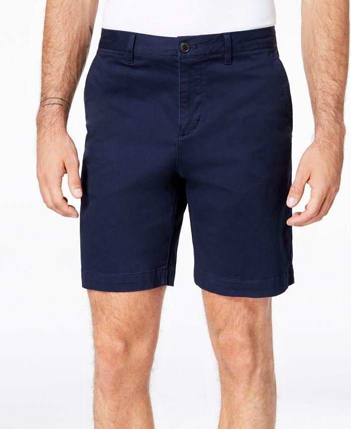 "Lacoste - Men's Classic-Fit Stretch Twill 8.5"" Bermuda Shorts"