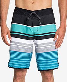 """Quiksilver Men's Eye Scallop Stripe 20"""" Boardshorts"""