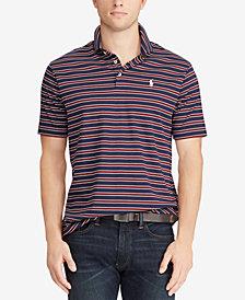 Polo Ralph Lauren Men's Classic Fit Soft Touch Striped Cotton Polo