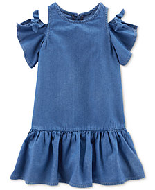Carter's Toddler Girls Cold-Shoulder Dress
