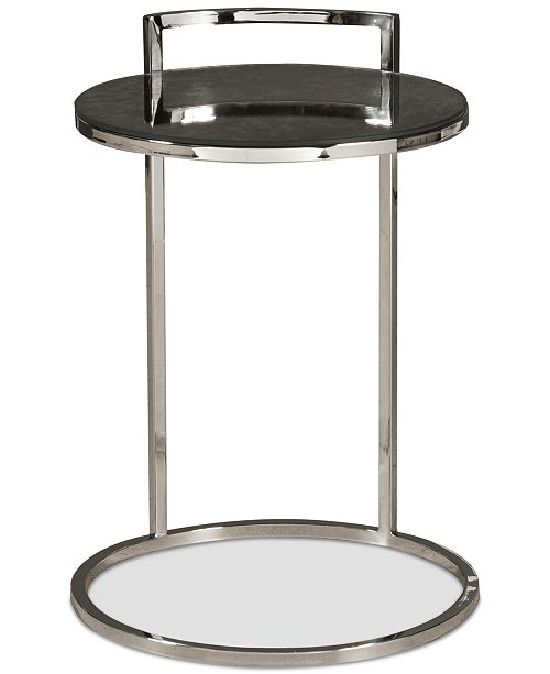 Samuel Lawrence Mindyton Contemporary Side Table, Quick Ship