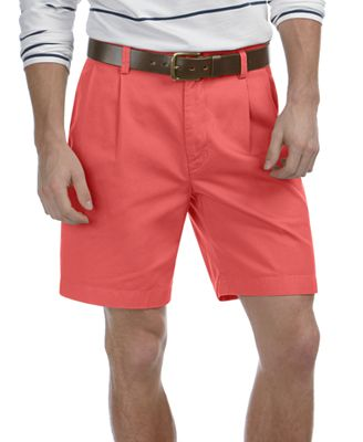 Nautica Shorts, Anchor Double Pleat Khaki - Shorts - Men - Macy's