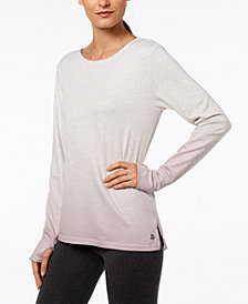 Ideology Cutout-Back Gradient Top, Created for Macy's