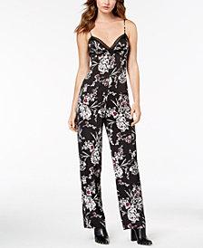 GUESS Floral-Print Jumpsuit