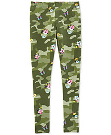Carter's Little & Big Girls Camo-Print Leggings