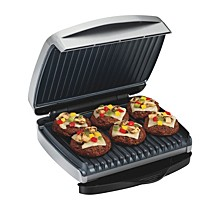 90 sq. inch Non Stick Indoor Grill with Removable Grids