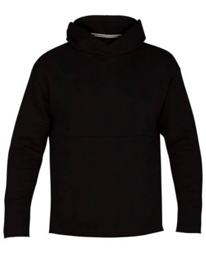 HURLEY Surf Check Icon Pullover Hoodie in Black