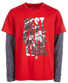 Champion Big Boys Game-Print T-Shirt