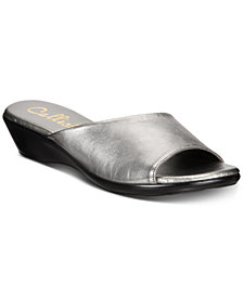 Callisto Cairo Slide Wedge Sandals, Created for M