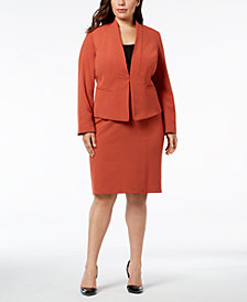 Nine West Plus Size Blazer & Pencil Skirt