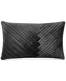 "Hotel Collection Marble Geo 14"" x 24"" Decorative Pillow, Created for Macy's"