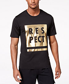ID Ideology Men's Metallic Graphic T-Shirt, Created for Macy's