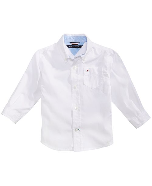 dc3f916ec Tommy Hilfiger Baby Boys Classic Button Down Shirt & Reviews ...
