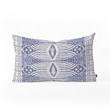 Deny Designs Holli Zollinger FRENCH  TRIBAL IKAT Oblong Throw Pillow