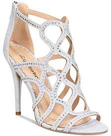 bebe Women's Daliyah Caged Dress Sandals