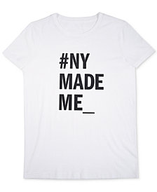 Receive a complimentary DKNY Stories T-Shirt with any large spray purchase from the DKNY Stories Fragrance Collection