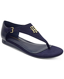 Tommy Hilfiger Women's Harber Thong Flat Sandals