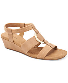 Alfani Women's Vennice Wedge Sandals, Created for Macy's