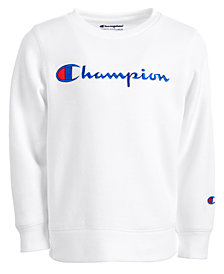 Champion Little Girls Heritage Logo Sweatshirt