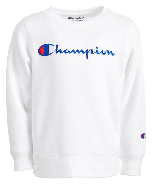72747337467 Champion Little Girls Heritage Logo Sweatshirt. Macy s   Kids   Sweaters