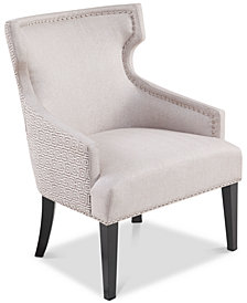 Everett Accent Chair, Quick Ship