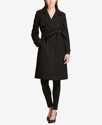 Belted Double Breasted Trench Coat, Created For Macy's by Dkny