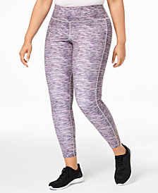Ideology Plus Size Printed Ankle Leggings, Created for Macy's