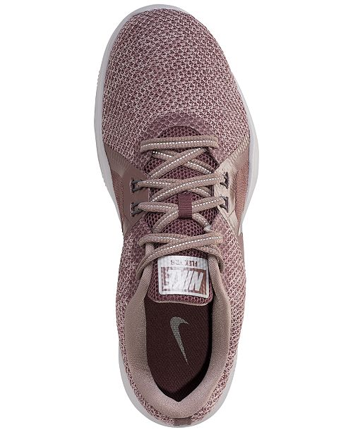 c7095b73ed38 ... Nike Women s Flex Trainer 8 Premium Training Sneakers from Finish ...