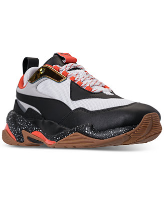 puma men's thunder spectra casual sneakers from finish