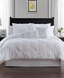 Sanders Pom Pom Comforter Set Collection