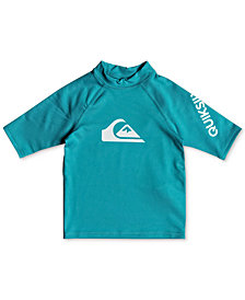 Quiksilver Toddler Boys All Time Logo-Print Rash Guard
