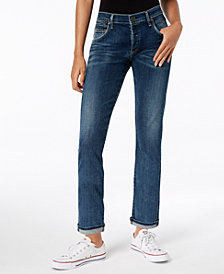 Citizens of Humanity Emerson Slim-Fit Cropped Boyfriend Jeans