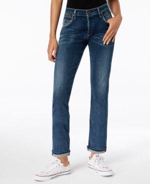 CITIZENS OF HUMANITY Emerson Slim Boyfriend Jeans in Blue Ridge