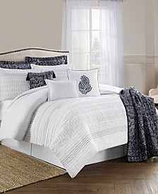 CLOSEOUT! Lara 10-Piece Comforter Set, Full-Queen