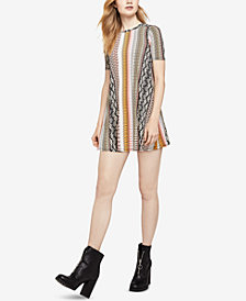 BCBGeneration Paisley Hypnosis A-Line Dress