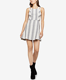 BCBGeneration Variegated Stripe Swing Dress