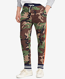 Polo Ralph Lauren Men's Camouflage Cotton Interlock Jogger Pants