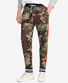 Polo Ralph Lauren Men's Camouflage Cotton Interlock Jogger Pants