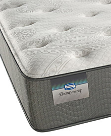 "ONLINE ONLY! BeautySleep 12"" Beaver Creek Plush Mattress- Twin"