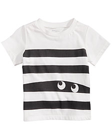 First Impressions Baby Boys Stripes & Eyes Cotton T-Shirt, Created for Macy's