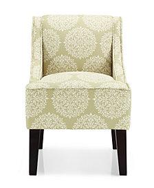 Marlow Accent Chair, Gabrielle Moss