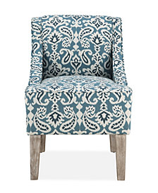Prescott Accent Chair, Ashlyn Blue
